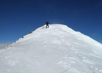 Cresta finale e cima
