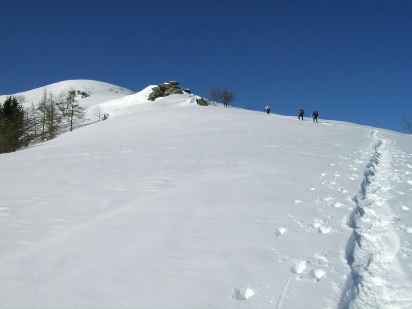 Servin (Monte) dal Colle Vaccera 2009-01-28