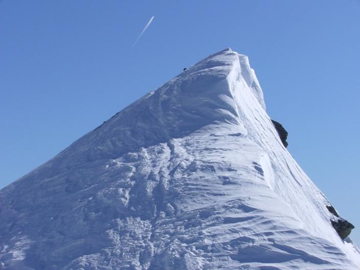 La cima del Caval Curt