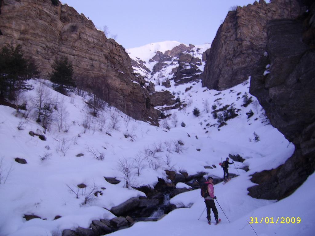 nel canyon iniziale