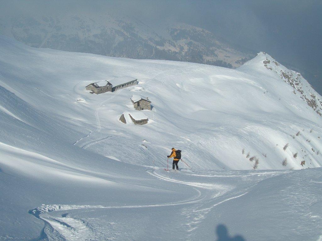 traverso sopra alpe Pianello