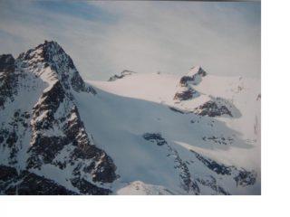 Il Pic du Rif dalla Rocher dell'Yret