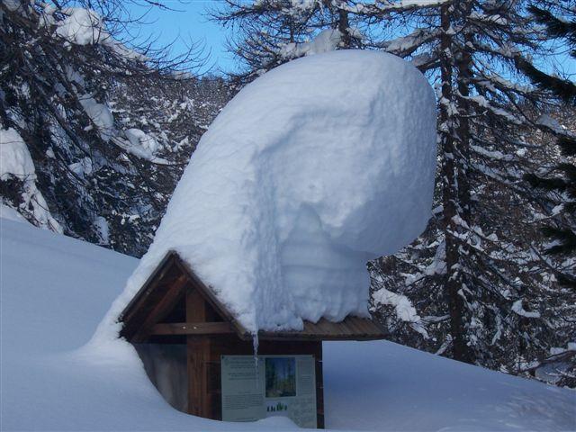 un pò di neve