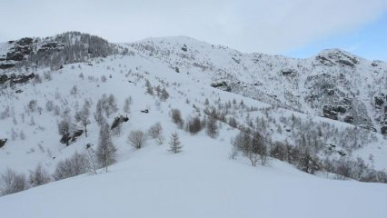 la dorsale dalla Rocca Ciaramolin