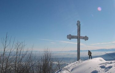 la panoramica croce di Envie