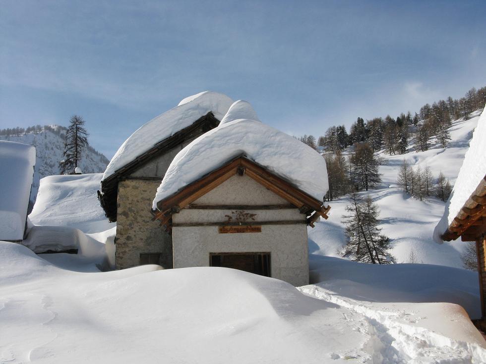Granon (Chalets du) da La Draye 2009-02-12