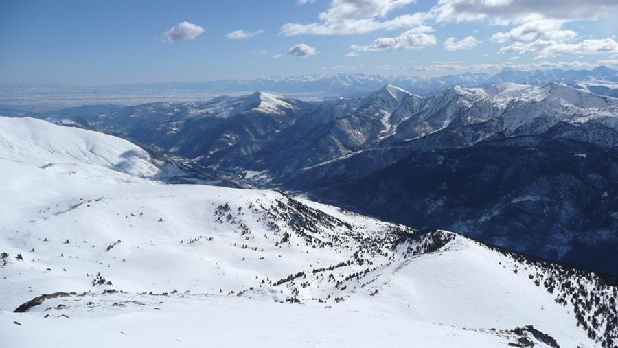 vista verso valle dalla reisasso