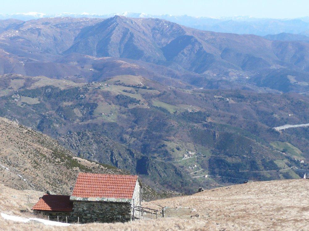 Panorama verso la Baiarda.