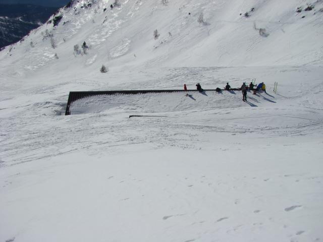sul tetto alpe Valnera