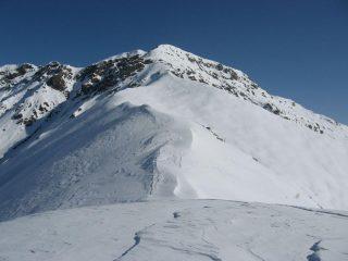 La cresta S-O del Monte Gregorio dal Betogne