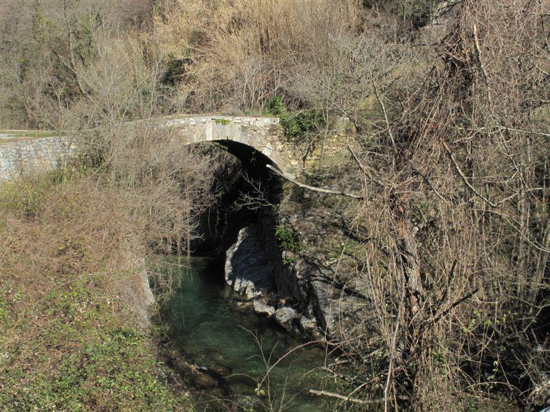 Il primo ponte che si incontra