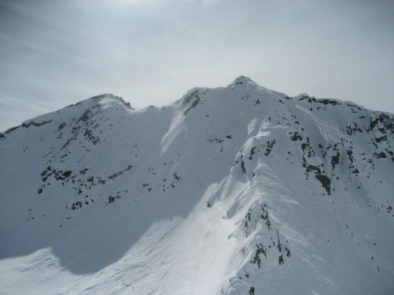 Cima d'Azoglio vista dal Tschavinerhorn