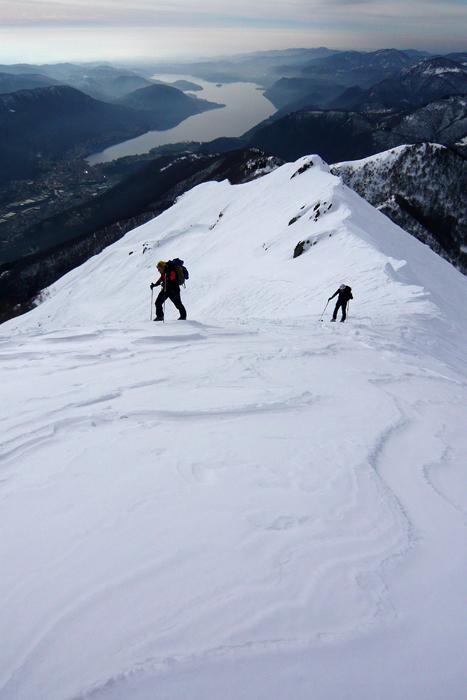 Tratto finale al Monte Cerano