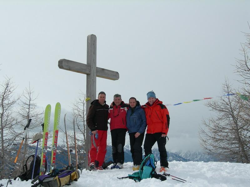 Foto di gruppo alla Croce