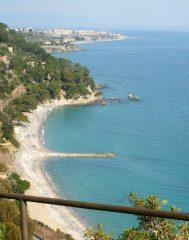 La costa verso Albenga