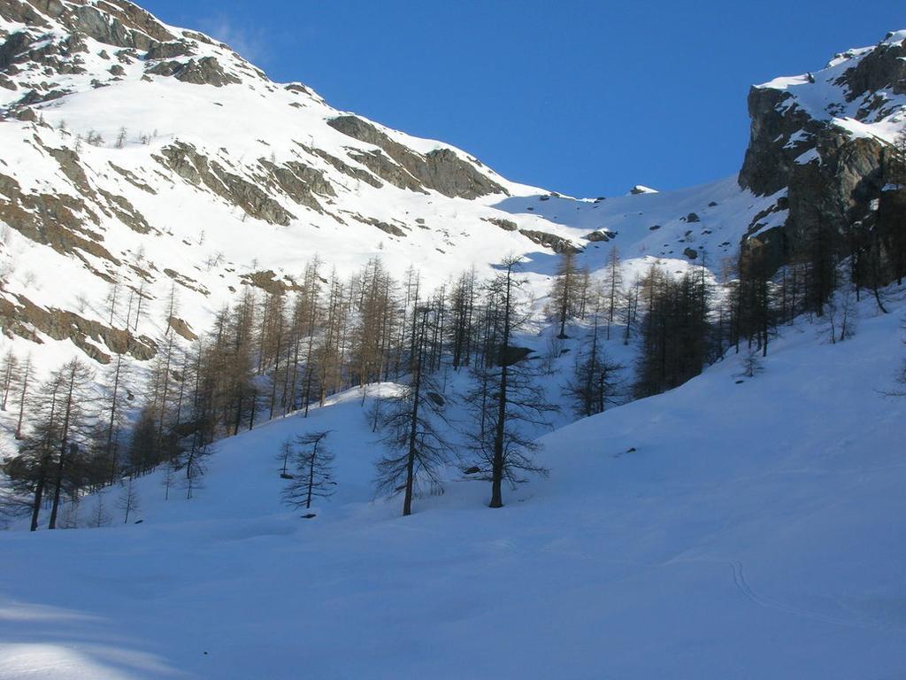 la parte mediana verso Alpe Ciavanis