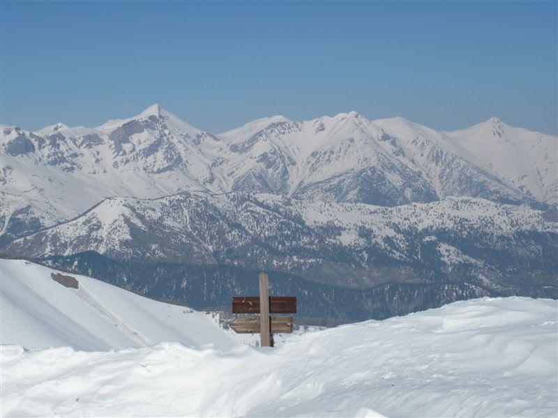 Balcone sulle Alpi Liguri