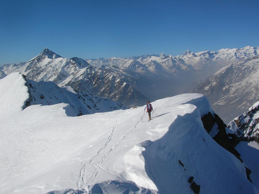 Il Cervino e le Grandes Murailles dalla cima.