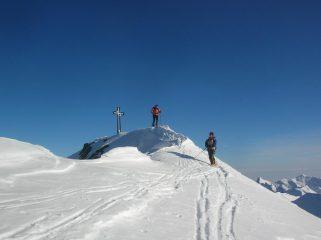 La cima del Monte Cresto.