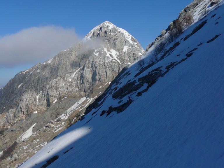 Vista sul Pizzo nella parte alta