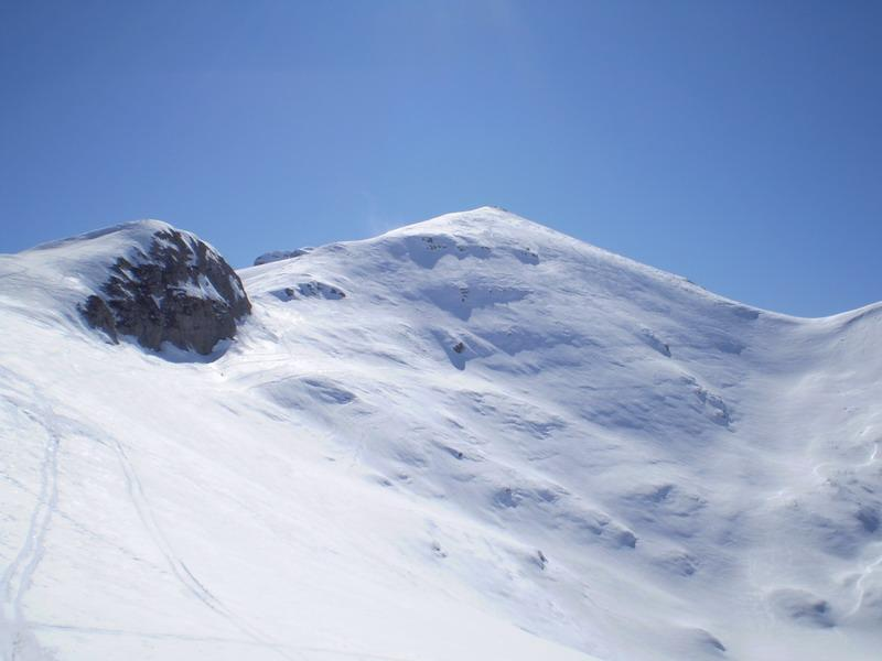 La cima Iurin