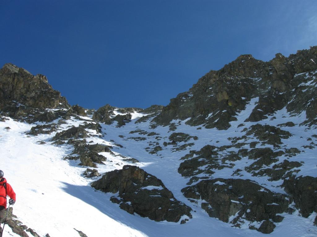 parte bassa parete neve ottima