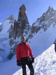 sul glacier du mont malet