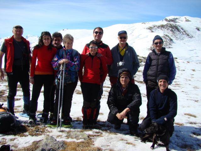 Autoscatto sulla cima Bracca