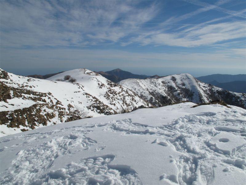 Fenaira (Monte) dal Colle d'Oggia, anello per l'Alpe di Baudo 2009-03-08