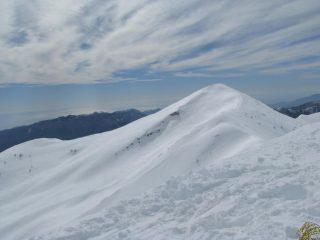 Il Mont Fronte' dalla cima Garlenda.