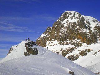 La cima sovrastata dal Mucrone