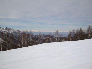 Da Cascina S.Michele, vista verso Nord