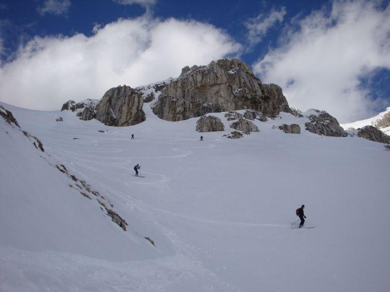 San Franco (Monte) traversata cresta Ovest - versante Nord 2009-03-08