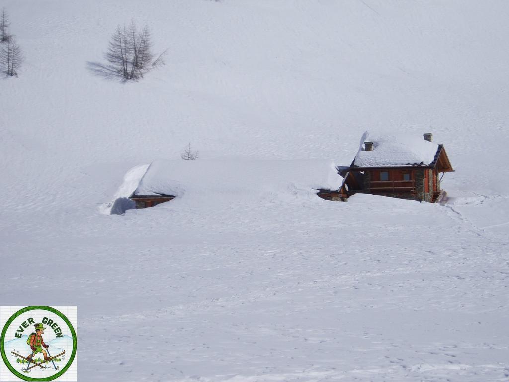 baite immerse nella neve