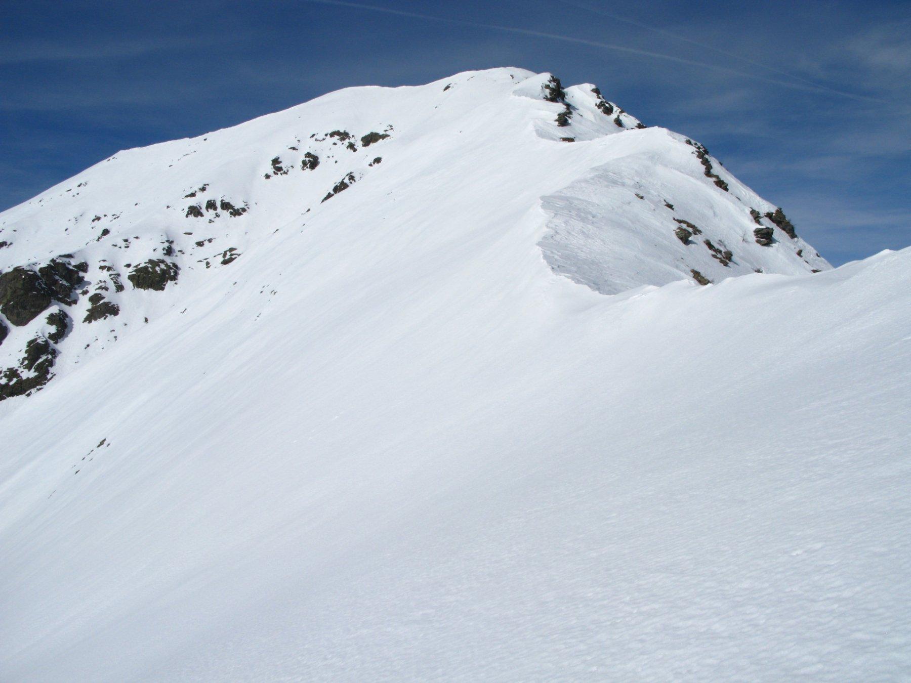 cresta Sud-Est del Monte Frioland vista dal Colle delle Porte