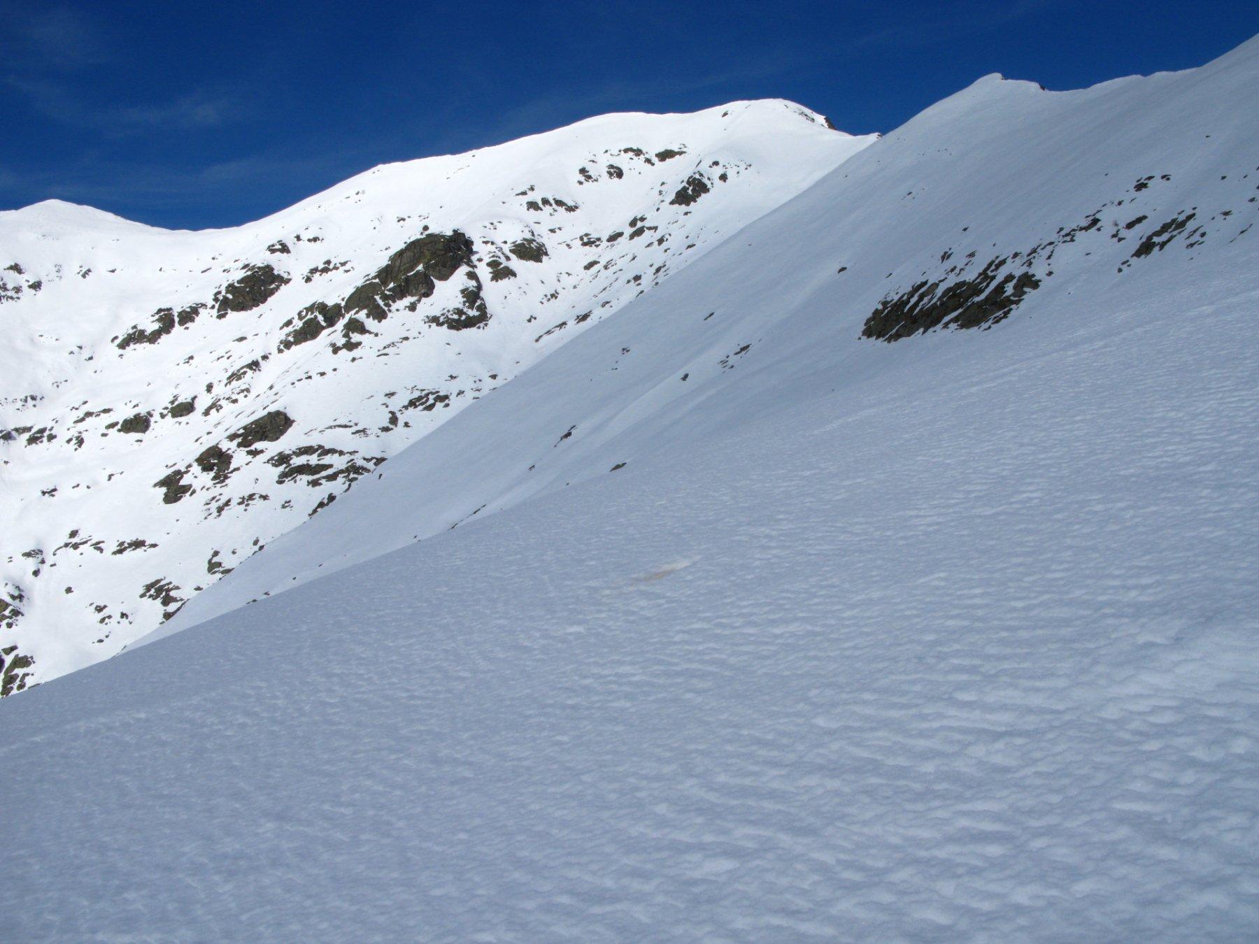 Monte Frioland osservato durante la salita al Colle delle Porte