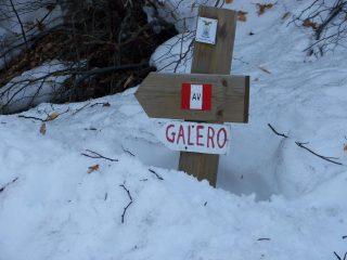 bivio per il m.Galero