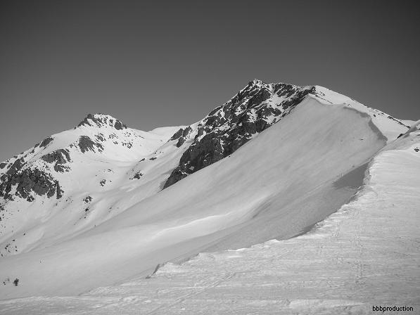 Cresta dal Col della Rossa e P.ta dell'Ila