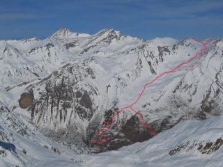 Percorso Monte Ferra
