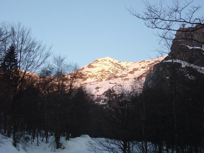 Monte Rosso di nome e di aspetto