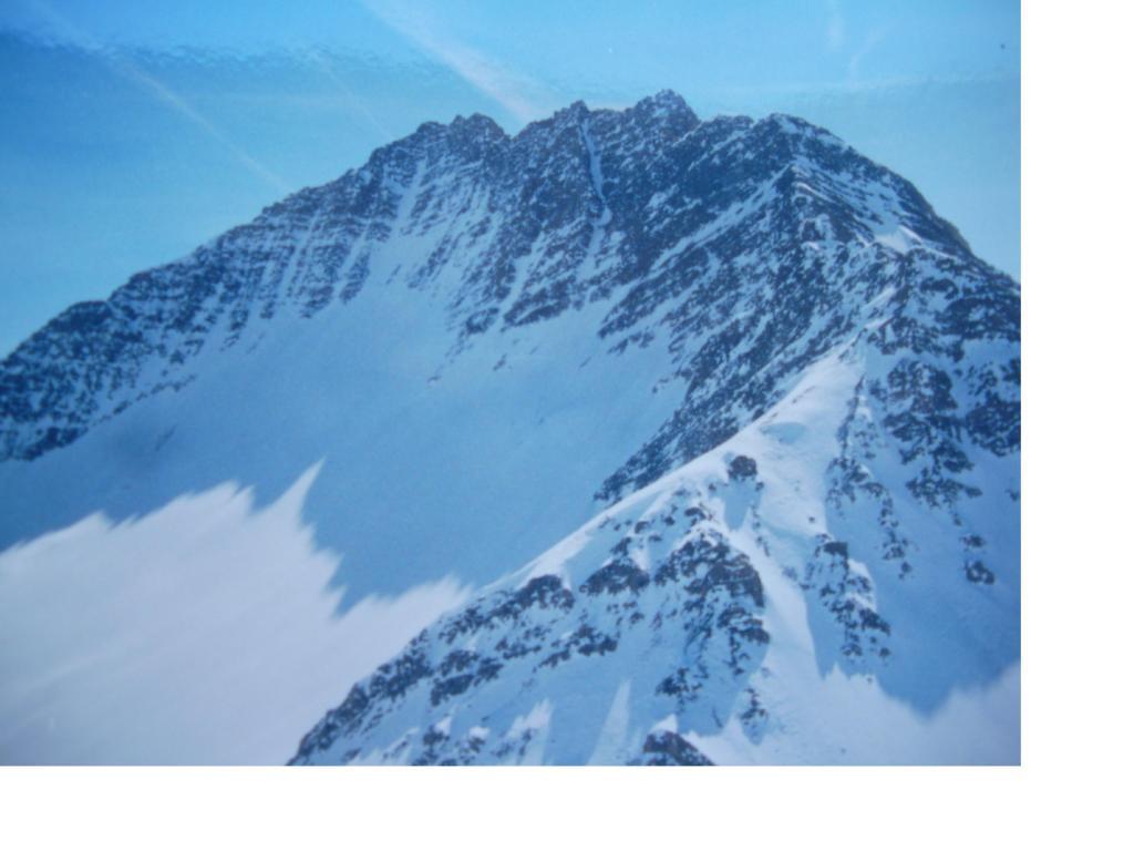 La Gran Rochere dalla vetta...