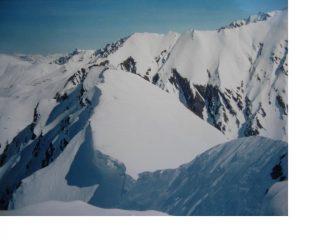 Dalla Tete entre de Sauts uno sguardo verso la Val Ferret