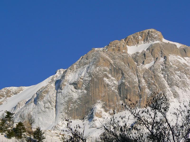 La Rocca dei Campanili in condizioni Patagoniche