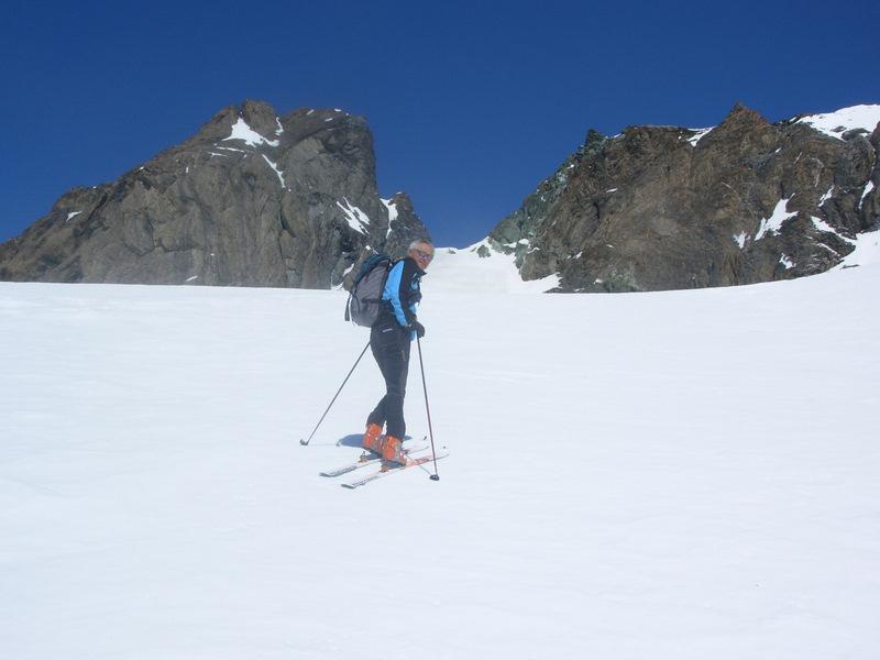 Amianthe (Pic, Col du) da Glacier 2009-03-22