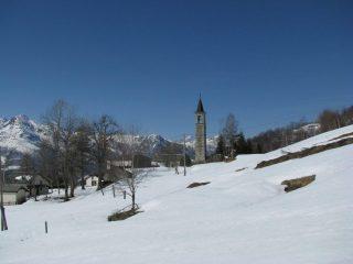 Il bel campanile di Maletto