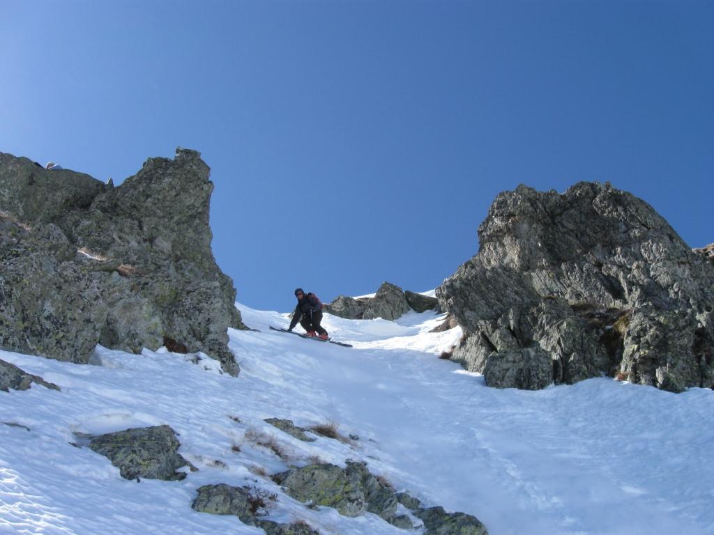primissimi metri(neve dura)
