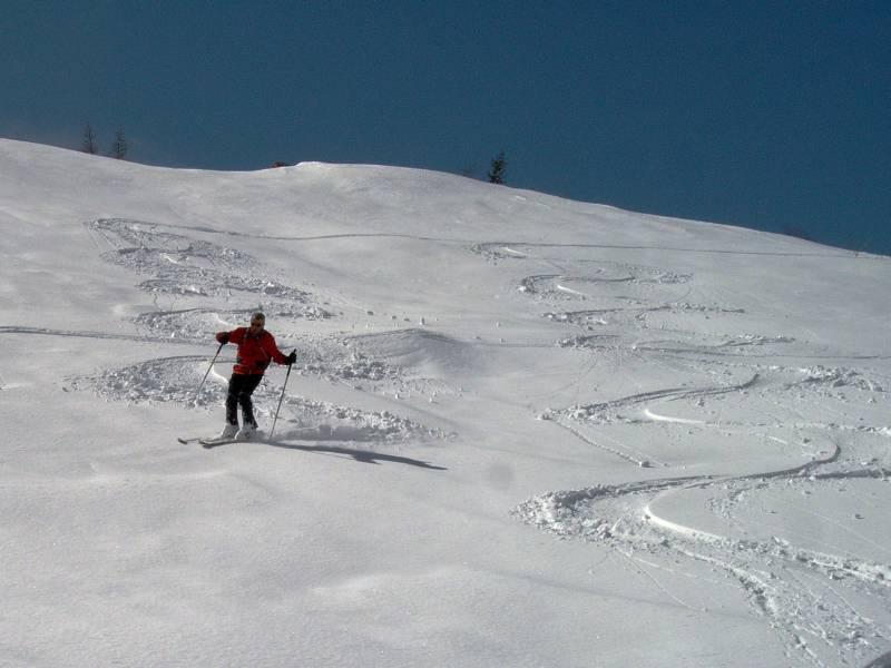 Scialpinista goduto 1