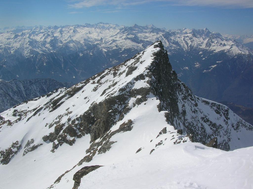 La Bbecca Torchè vista dalla cima.