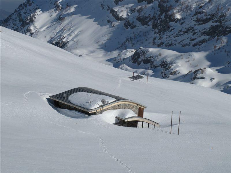 I rifugi sotto la neve