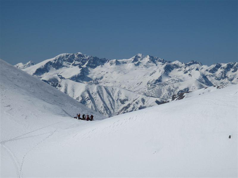 Dal colle della Gaina, dietro il Bego e il Mt Ste Marie fatto ieri